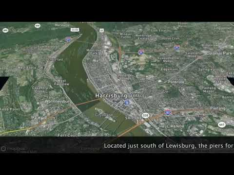Massive bridge takes shape near Lewisburg