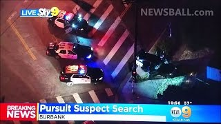 115 MPH CAR CHASE with police becomes planned HOUDINI-like escape from cops in Los Angeles!