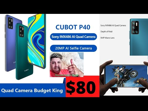 CUBOT NBEW 2020 BUDGET KING NFC 20MP 4G LTE