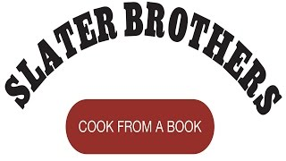 Slater Brothers Cook From A Book: Old Fashioned Chocolate Cake 2015