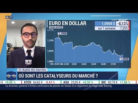 Good Morning Business Du 27 Septembre 2019  - Réda Aboutika - XTB France