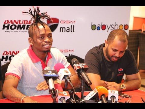BREAKING NEWS: Diamond Platinumz Akabidhiwa Ubalozi wa GSM Mall