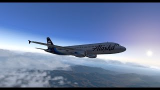 XP11: FF A320 with BSS update test flight
