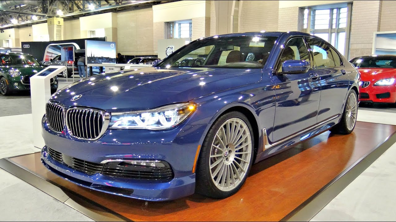 2018 Bmw Alpina B7 Sports Car Pov Review Youtube