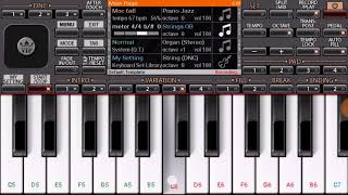 आई तुझं देऊळ l Aai Tuz Deul l  Koli geet l Instrumental mobile Piano Tutorial l jkcreationmfe