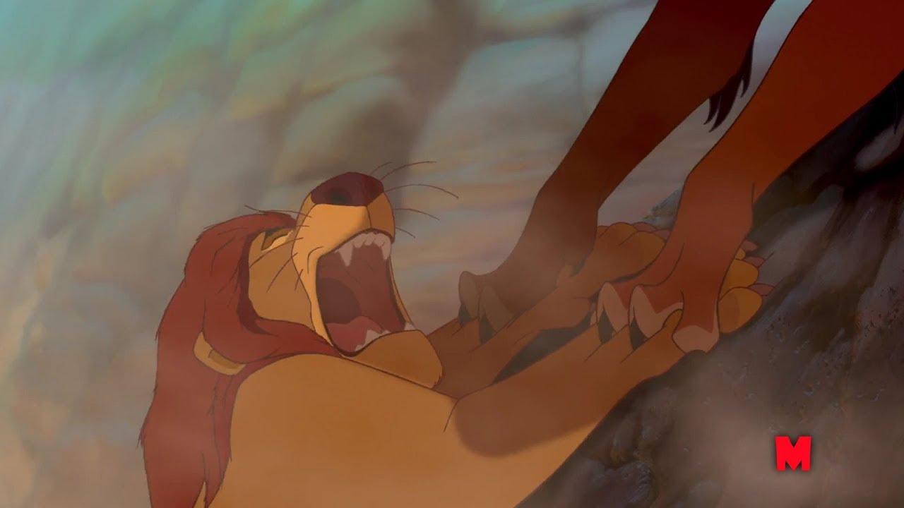Король лев Смерть Муфасы The Lion King 1994 Youtube