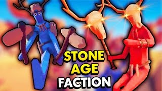 NEW STONE AGE FACTION IN TABS! (Totally Accurate Battle Simulator / TABS Funny Gameplay)