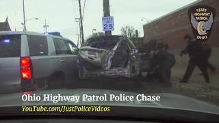 Police Chase Because 'Late For Work '