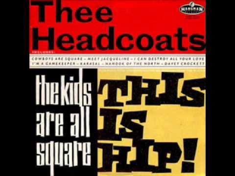 Thee Headcoats - Davey Crockett