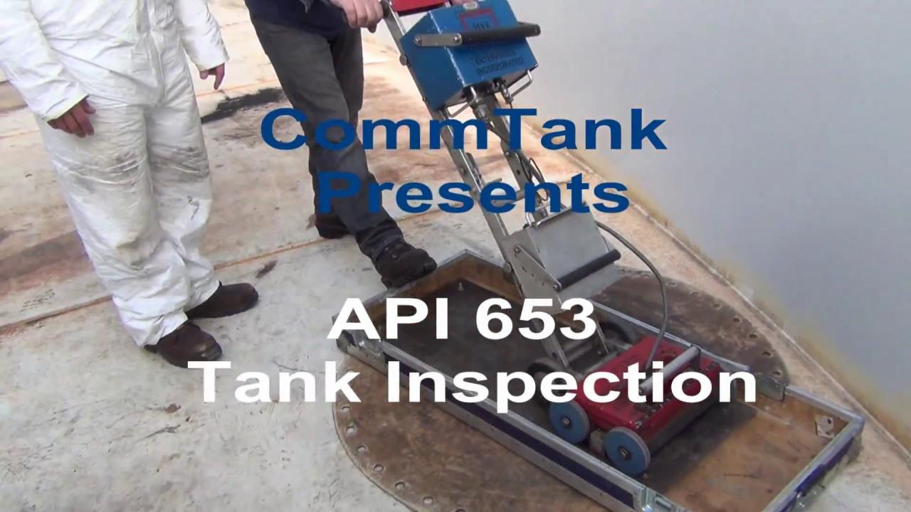 Api 653 Tank Inspection Massachusetts Youtube