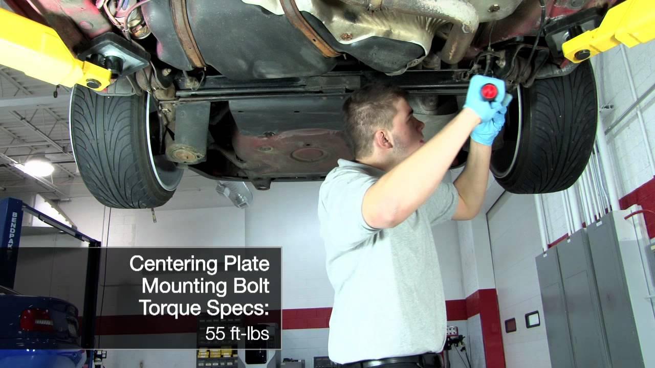 Ecs Tuning Mkiv Rear Wheel Centering Plates Youtube