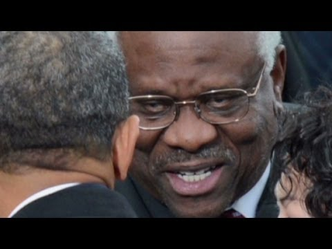 Clarence Thomas says we're too sensitive