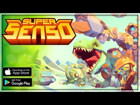 SUPER SENSO Gameplay Tutorial Guide - Android/iOS APK - Strategy CCG Card Game RPG