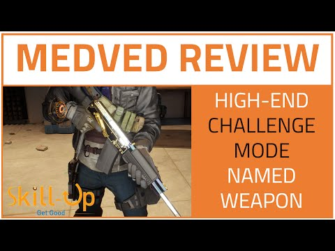 The Division   Medved Review (High-End Challenge Mode Shotgun)
