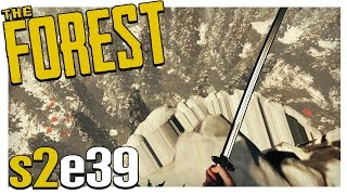 CLIFF JUMPING! | The Forest Gameplay S2E39 (Alpha v0.21)