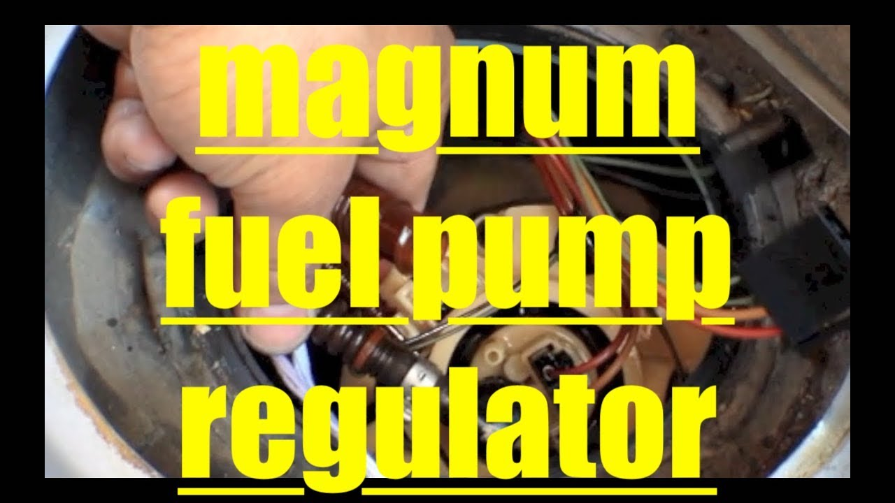 Long Crank Time Replace Regulator Fuel Pump Dodge Magnum