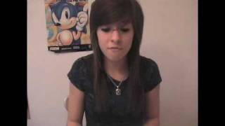 "Me Singing ""Fireflies"" by Owl City - Christina Grimmie"