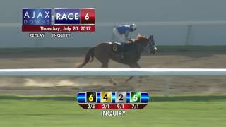 Ajax Downs, July 20, 2017, Race 6