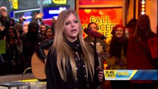 Avril Lavigne Wish You Were Here Live at Good Morning America 22 11 2011.mp3
