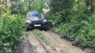 BMW X5 по грязи (off road)(BMW X5 F15 2014 г.в. - 249 л.с. - 3.0 TD Автоматическая 8-ступ. коробка передач. Резина: Dunlop sp sport maxx R21 зад: 325/30 R21 перед: 285/30..., 2015-08-24T16:52:25.000Z)