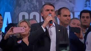 O ataque sofrido por Bolsonaro não influenciou a pesquisa feita pelo Datafolha