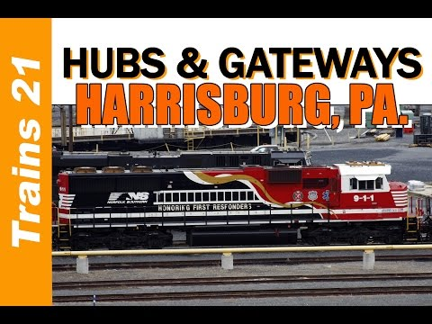 RAIL HUBS & GATEWAYS: Harrisburg, Pa. - Capitol, Cove and Hagerstown
