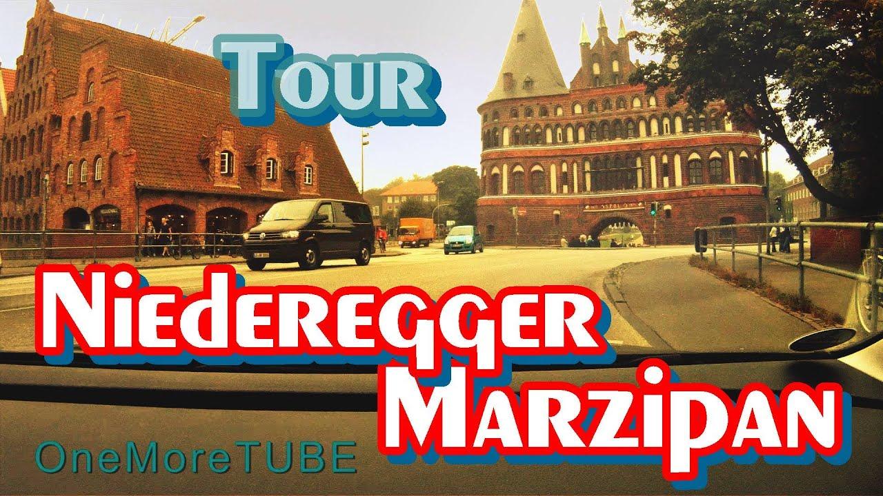 Tour in l beck niederegger marzipan fabrikverkauf for Kare fabrikverkauf factory outlet