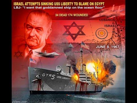 Zionist Jews Attack The USS Liberty  - SHOCKING!