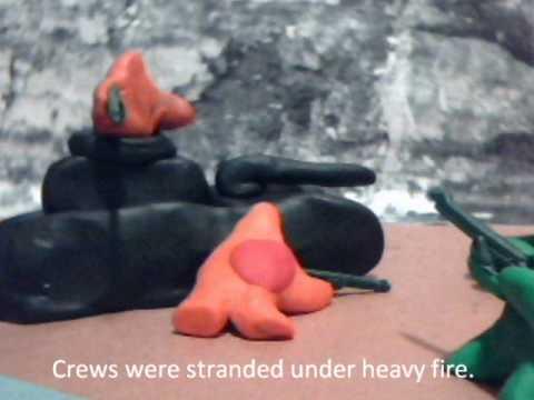 The Dieppe Raid... Clay version