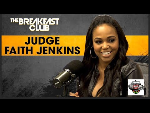 The Breakfast Club On Revolt TV. *TODAY EPISODE* (Monday 3-19-2018) JUDGE FAITH JENKING
