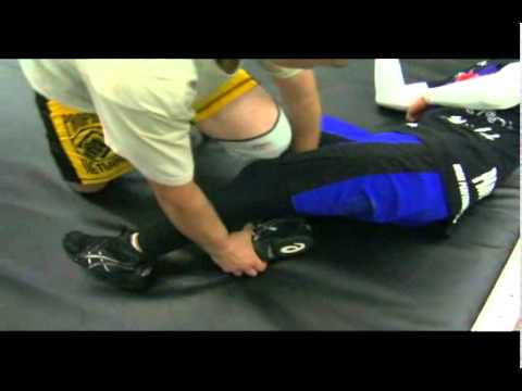 Billy Robinson: Gotch Toe Hold
