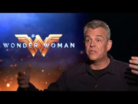 WONDER WOMAN - Danny Huston Interview