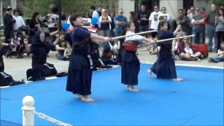 (Kendo) Japanese Stick Fighting And Practice.wmv