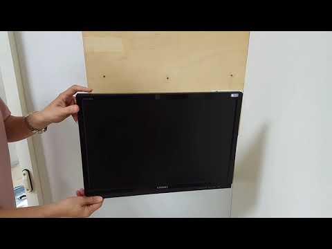 海洋液晶電視架:氣壓式螢幕壁掛架NB F120