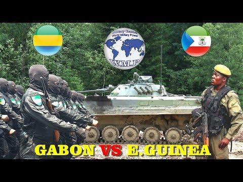 Gabon VS Equatorial Guinea Military Power Comparison 2018