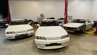 homepage tile video photo for WHY DO I HAVE 3 WHITE R32 GTRS?