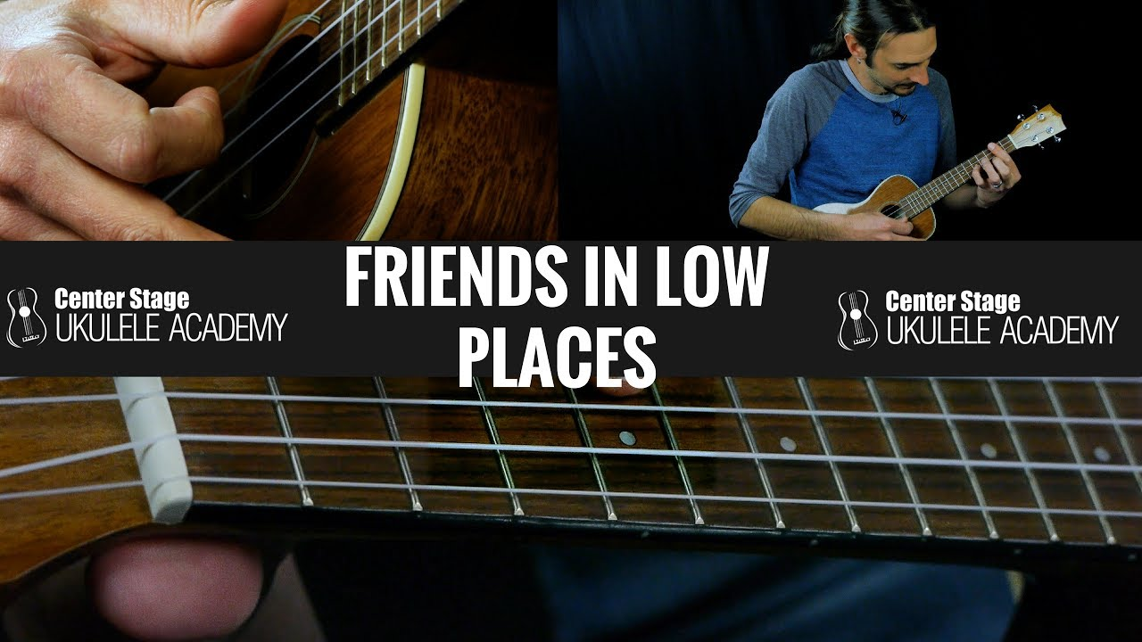 Friends In Low Places Ukulele Lesson - Chords and ...