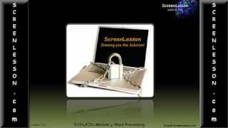ECDL/ICDL Module 3 IT Training Video: Test Q. Solution