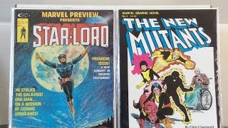 Comic Book Collection Spotlight #4 ( DC/ Marvel Treasury-Sized & OGNs,  Marvel/Indie Magazines )