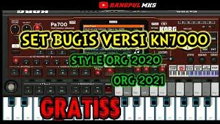 SET BUGIS VERSI KN7000•STYLE ORG 2020/2021