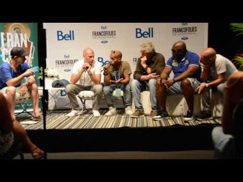 IAM à Montréal (conférence de presse)