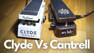 Fulltone Clyde Deluxe vs Dunlop Cantrell JC95 Cry Baby - Wah Pedal Shootout & Comparison