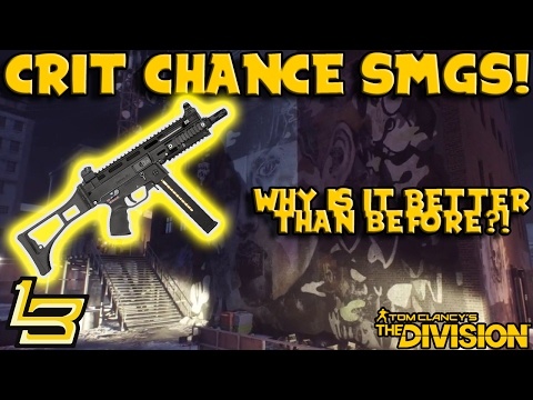 Why Crit Chance is better for SMGs (The Division)