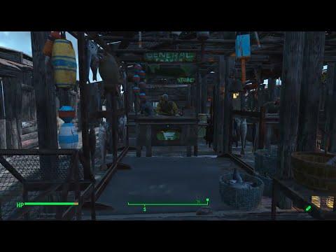 Fallout 4 Settlement Tour: Nordhagen Fishing Village (PS4)