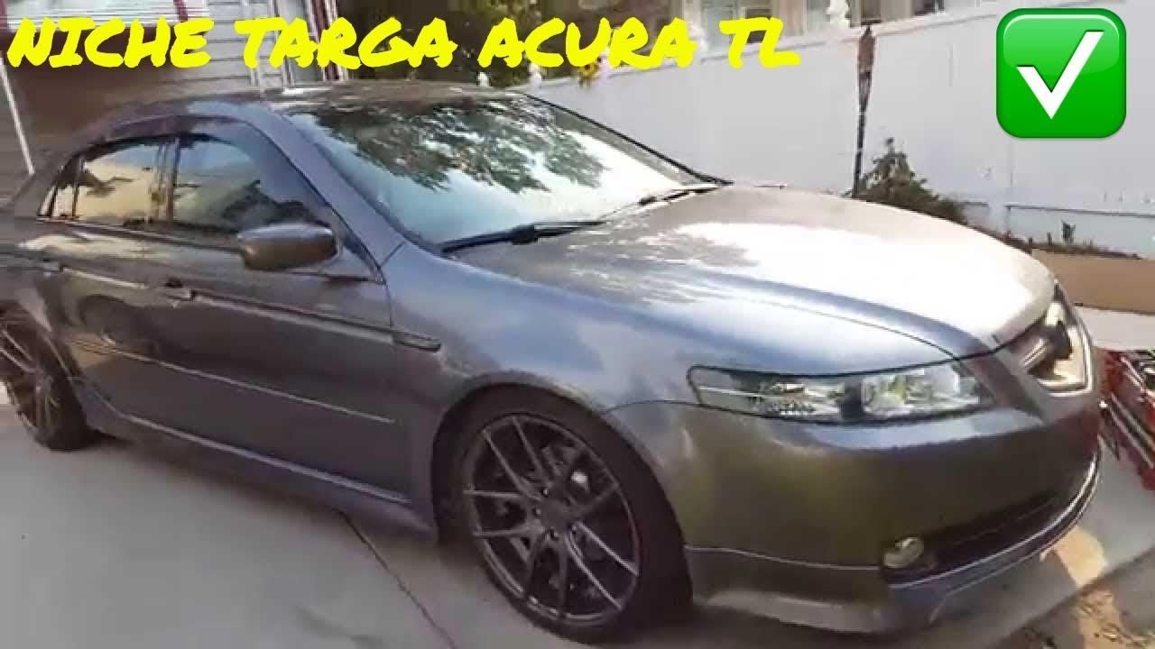 ACURA TL BC COILOVERS NICHE TARGA YouTube - Acura tl bc coilovers