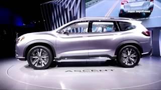 7 местный Subaru Ascent  концепт будущей модели