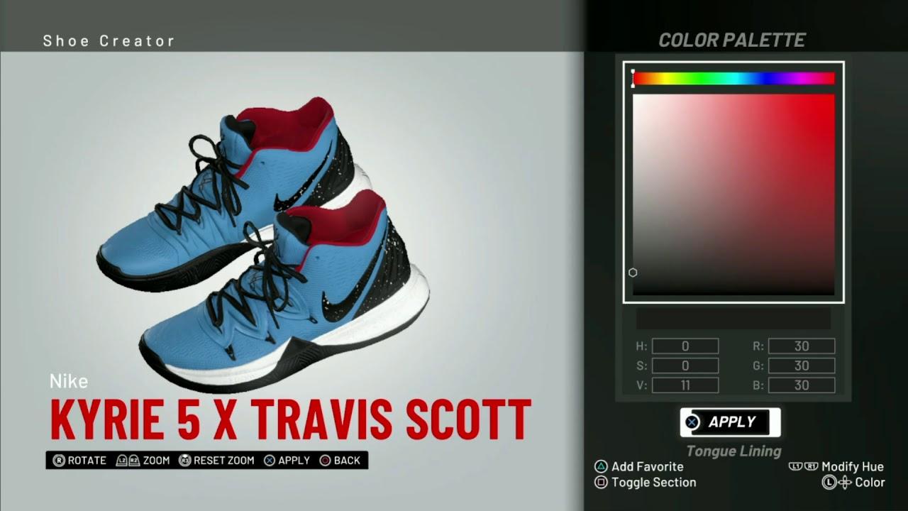 NBA 2K19 Shoe Creator   Nike Kyrie 5