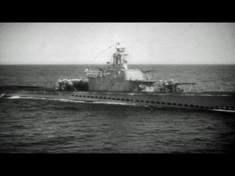 HD Historic Archival Stock Footage WWII News Submarine Operations In The Pacific Revealed