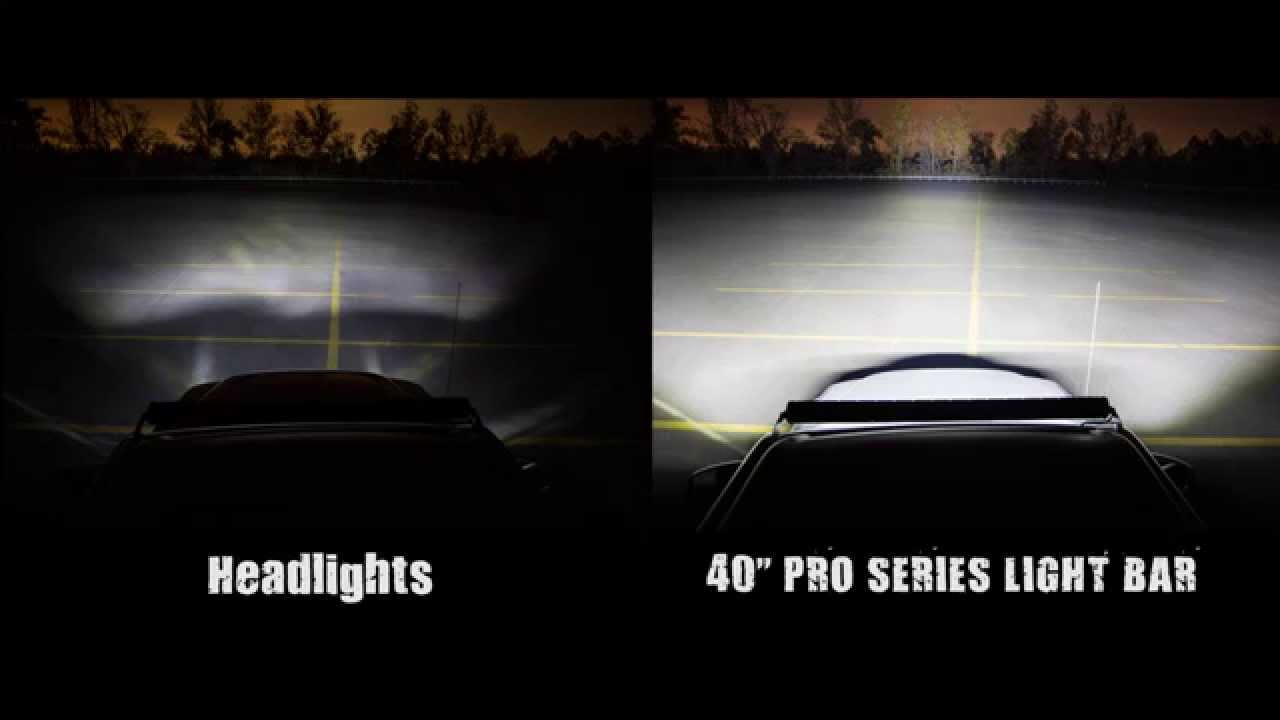 40 inch light bar youtube 40 inch light bar mozeypictures Images