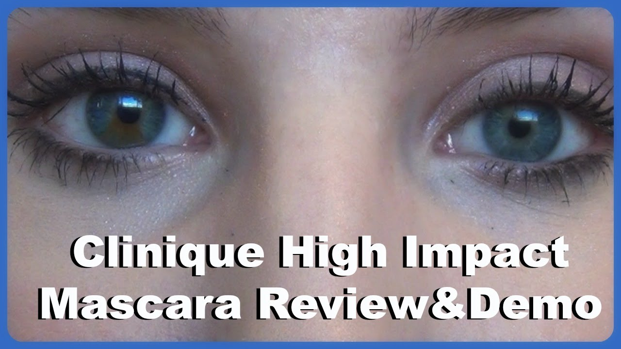 Clinique High Impact Mascara & Primer | Demo & Review - YouTube